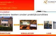 TKIUE P02 | lijn 2 Emulator | Arie Kalkman (TNO)