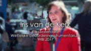 Waterinfodag 2017 | Interview 18 – Iris van de Kerk / RWS