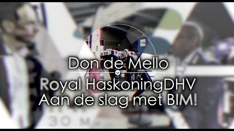 Waterinfodag 2017 | Interview 9 – Don de Mello / RHDHV