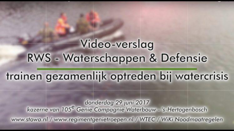 170629 STOWAvideo | Gezamenlijke oefening WTEC – Wiki Noodmaatregelen